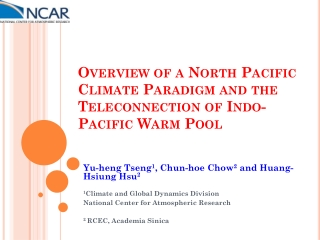 -  Indo-Pacific Ocean Warm Pool Research