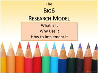 The Big6 Research Model