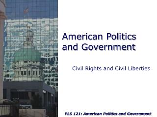 American Politics and Government