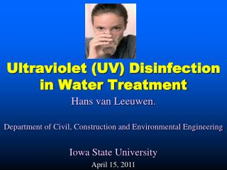 Ultraviolet (UV) Disinfection in Water Treatment