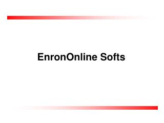 EnronOnline Softs