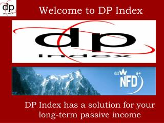 DP Index has a solution for your long-term passive income