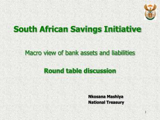 South African Savings Initiative