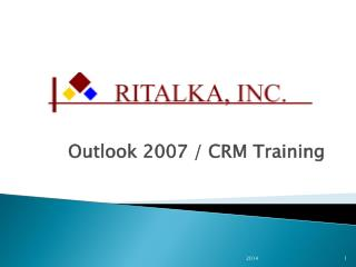 Outlook  2007 / CRM  Training