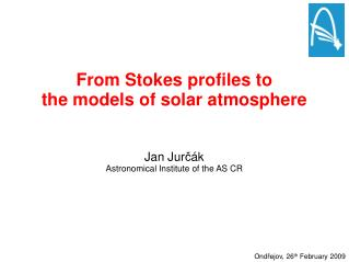 From Stokes profiles to  the models of solar atmosphere
