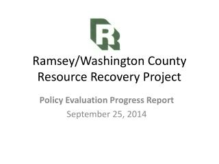 Ramsey/Washington County Resource Recovery Project