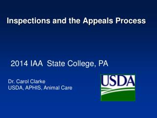 Inspections and the Appeals Process