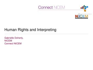 Human Rights and Interpreting