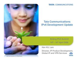 Tata Communications IPv6 Development Update