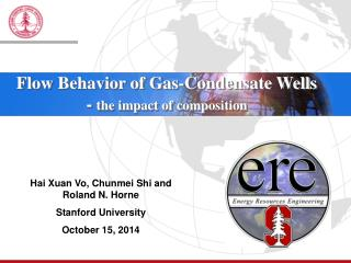 Hai Xuan Vo, Chunmei Shi and Roland N. Horne Stanford University October 15, 2014
