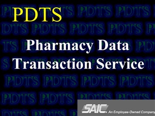 PDTS Pharmacy Data Transaction Service
