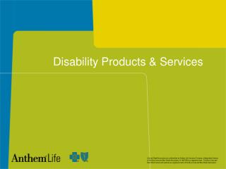 Disability Products  Services