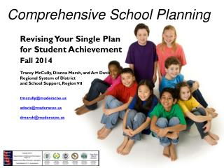Comprehensive School Planning
