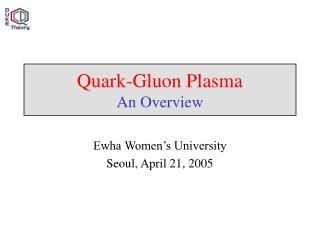 Quark-Gluon Plasma An Overview