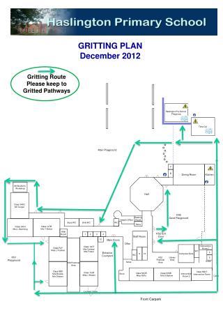 GRITTING PLAN December 2012