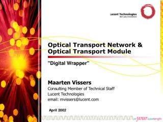 Optical Transport Network & Optical Transport Module