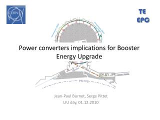 Power converters implications for Booster Energy Upgrade
