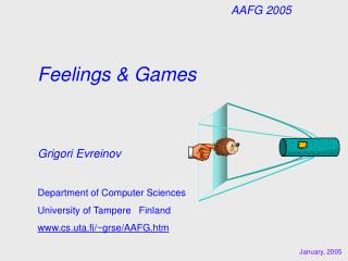 Feelings & Games