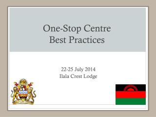 One-Stop Centre  Best Practices