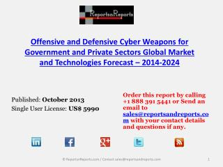 Offensive and Defensive Cyber Weapons Market Growth and Oppo