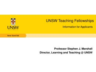 UNSW Teaching Fellowships