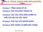 Phn 2: VISUAL BASIC FOR APPLICATION VBA