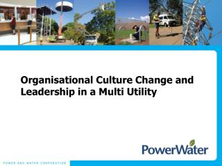 Organisational Culture Change and Leadership in a Multi Utility