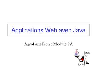 Applications Web avec Java