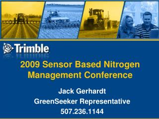 2009 Sensor Based Nitrogen Management Conference
