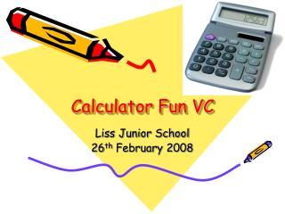 Calculator Fun VC