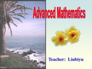 Advanced Mathematics