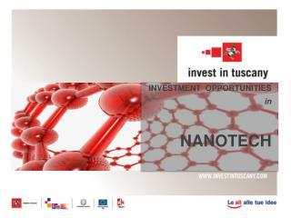INVESTMENT OPPORTUNITIES in NANOTECH