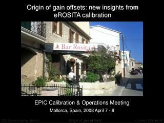 Origin of gain offsets: new insights from eROSITA calibration
