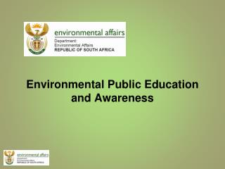 Environmental Public Education and Awareness