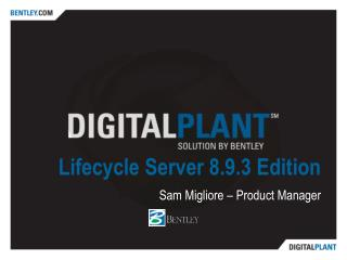 Lifecycle Server 8.9.3 Edition