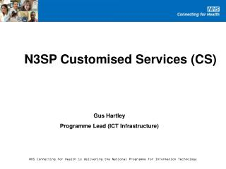 N3SP Customised Services (CS)