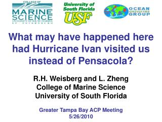 What may have happened here had Hurricane Ivan visited us instead of Pensacola?