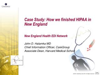 Case Study: How we finished HIPAA in New England