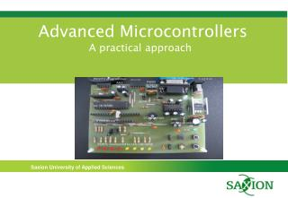 Advanced Microcontrollers A practical approach