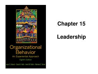 Chapter 15 Leadership
