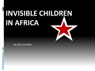 Invisible children In Africa