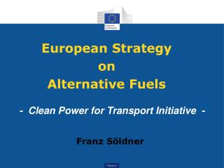 European Strategy on Alternative Fuels