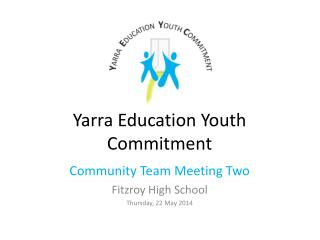 Yarra Education Youth Commitment
