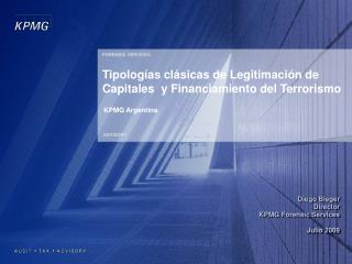 Tipologías clásicas de Legitimación de Capitales  y Financiamiento del Terrorismo