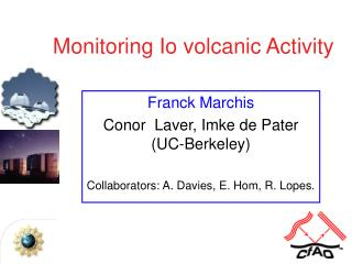Monitoring Io volcanic Activity