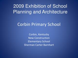Corbin Primary School