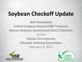 Soybean Checkoff Update