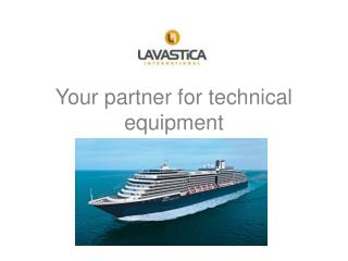 Your partner for technical equipment