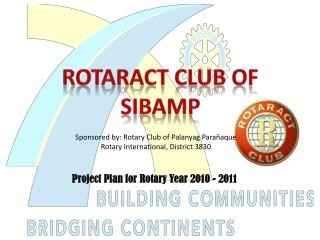 Rotaract  Club of SIBAMP