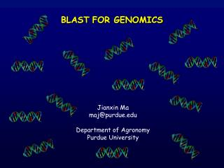 BLAST FOR GENOMICS